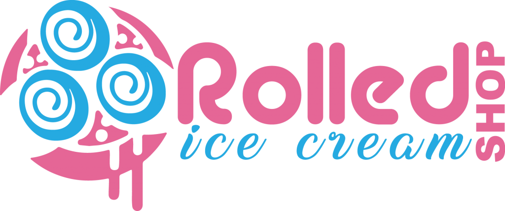 Ice cream roll machines